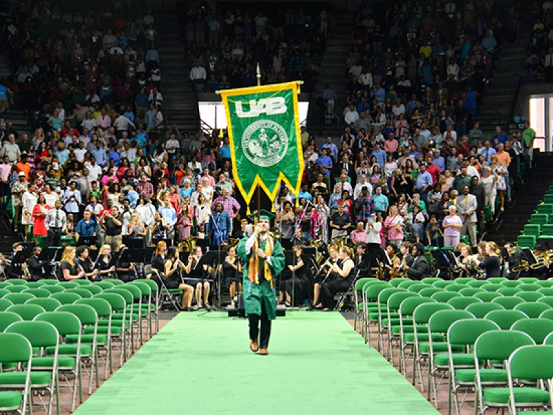 UAB spring commencement ceremonies are April 26-27