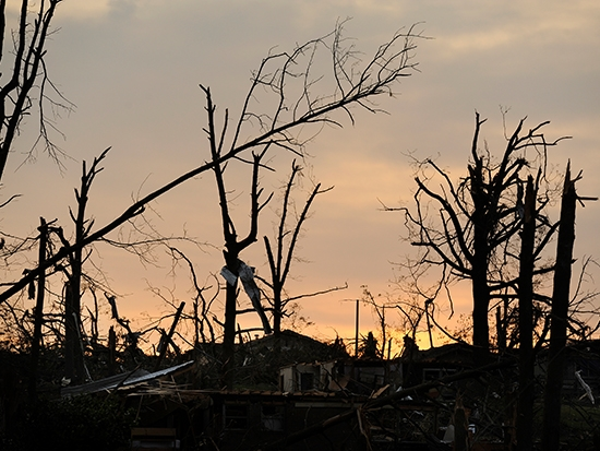 How to handle the emotional stress associated with tornadoes, severe weather threats