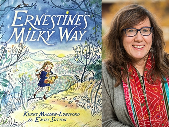"Madden-Lunsford's new book, ""Ernestine's Milky Way,"" pays homage to her 'mountain mother'"