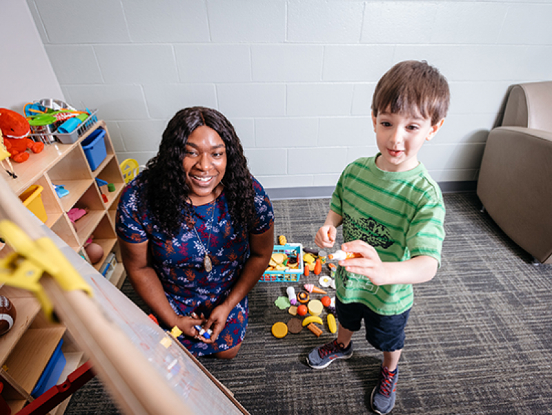Affordable counseling for children now available through UAB's play therapy room