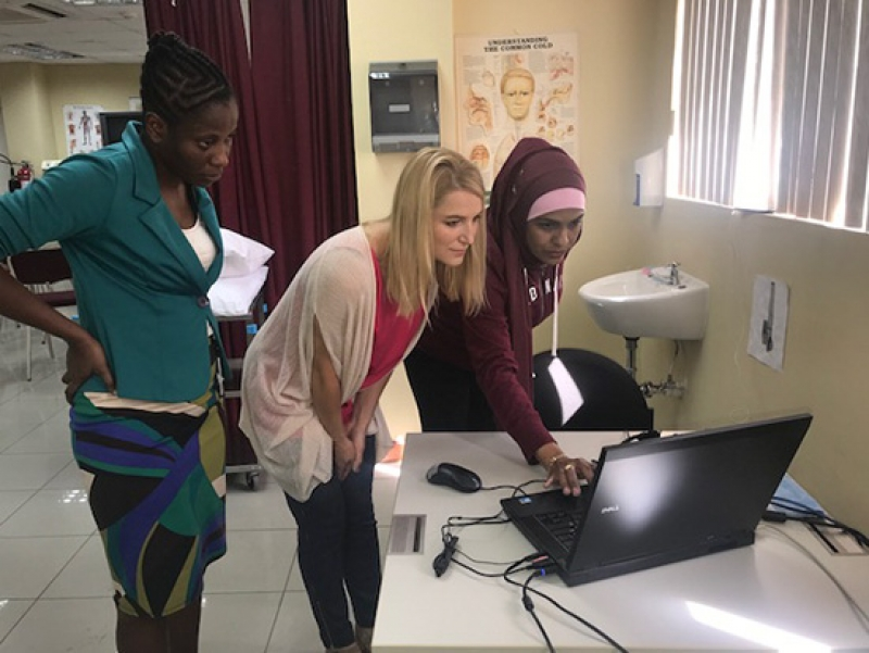 UAB nursing instructors improve nursing education in Jamaica