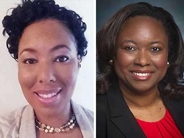 NORC Senior Scientist Monica Baskin and Predoctoral Scholar Valene Garr Barry, UAB President's Diversity Champion Award Recipients 2019