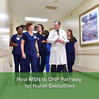 Post-MSN to DNP Pathway for Nurse Executives