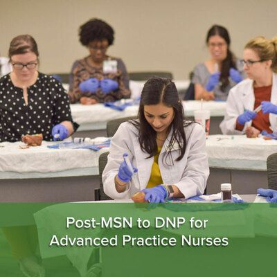 Post-MSN to DNP Pathway for Advanced Practice Nurses