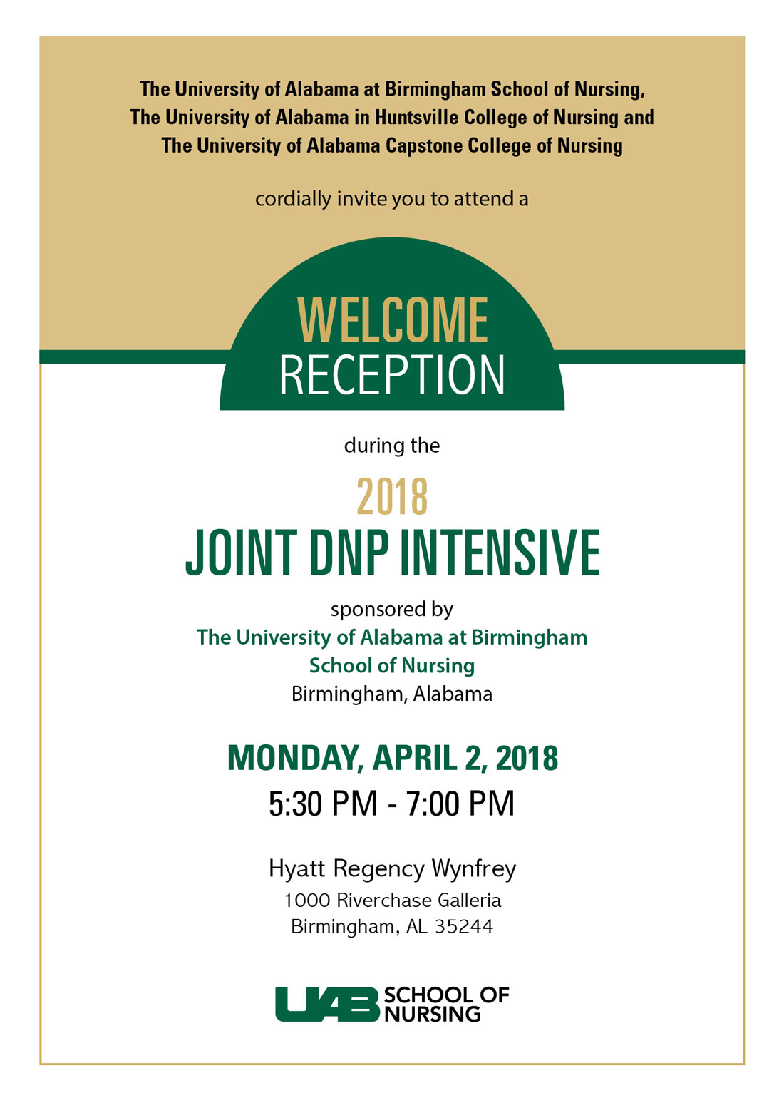 joint dnp reception invitation