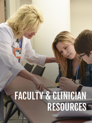 Faculty & Clinician Resources