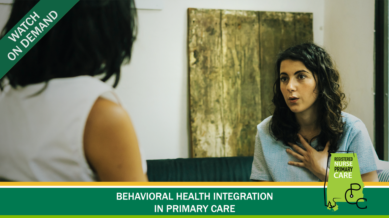 Behavioral Health Integration in Primary Care