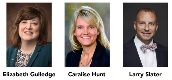 Photo: AACN selects three alumni for leadership program