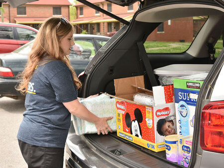 Nurse Family Partnership continues to provide supply deliveries