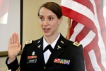 U.S. Army promotes PhD student Swiger to lieutenant colonel