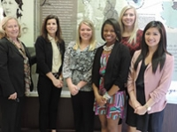 The Lettie Pate Whitehead Foundation visits the UAB School of Nursing