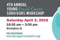 4th Annual Young Breast Cancer Survivors Workshop set
