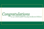 Four inducted as AANP fellows