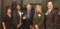 Wiser receives 2013 Presidential Diversity Award