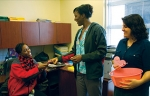 UAB SNA members sell CardioGrams in celebration of Valentine's Day
