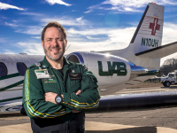 UAB alumnus reaches new heights with the critical care transport service