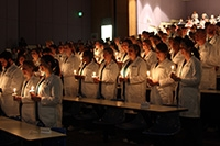 UAB School of Nursing hosts inaugural Gold-AACN White Coat Ceremony for Nursing