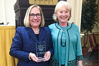 Shirey receives inaugural Suzanne Smith Memorial Award for Scholarly Writing Excellence
