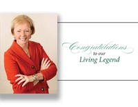 Alumna honored as Living Legend