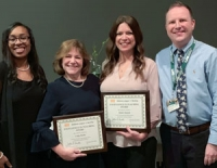 Faculty recognized for excellence in teaching