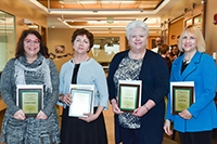 Graduate faculty mentors honored