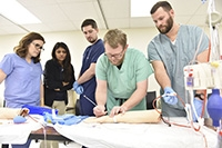 100% first-time pass rate for nurse anesthesia