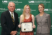 School of Nursing students honored by UAB National Alumni Society