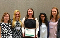 Nursing organization recognized at 2016 UAB Student Excellence Awards Ceremony