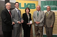 Two alumni honored by UAB NAS