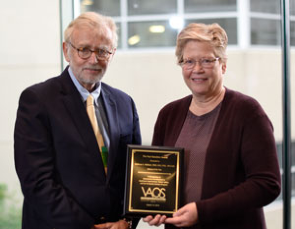 Miltner honored by QSEN, VAQS