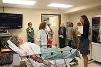 Lettie Pate Whitehead Foundation visits the UAB School of Nursing