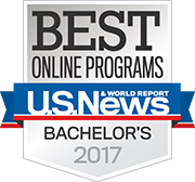 U.S. News and World Report: Best Online Programs, Bachelor's 2017