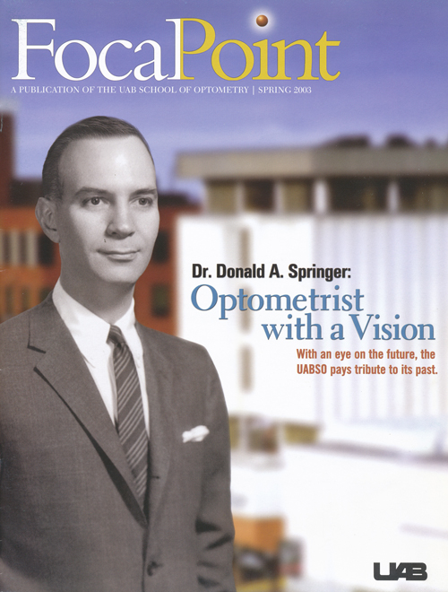 Donald A. Springer, OD: The Beginning of a Vision