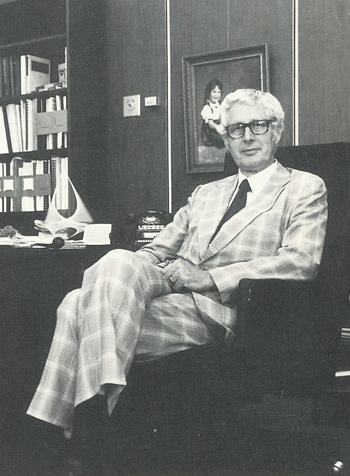 Henry B. Peters, OD: UAB School of Optometry is born