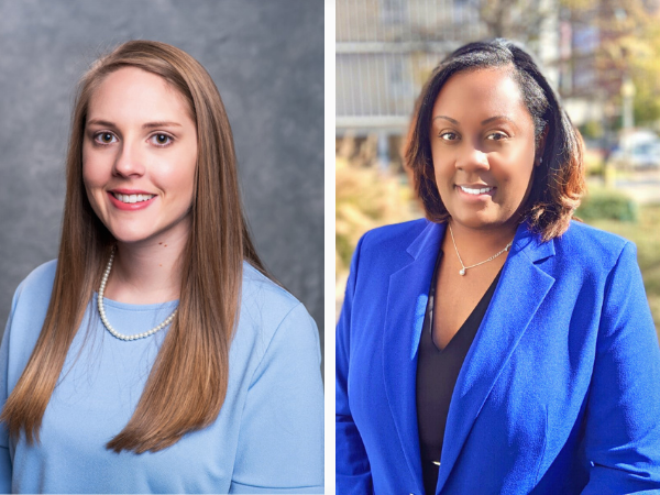 West and Brown named assistant professors