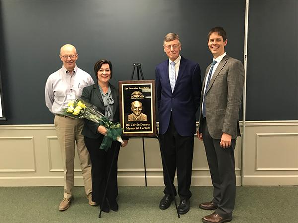 Dean Nichols receives inaugural award
