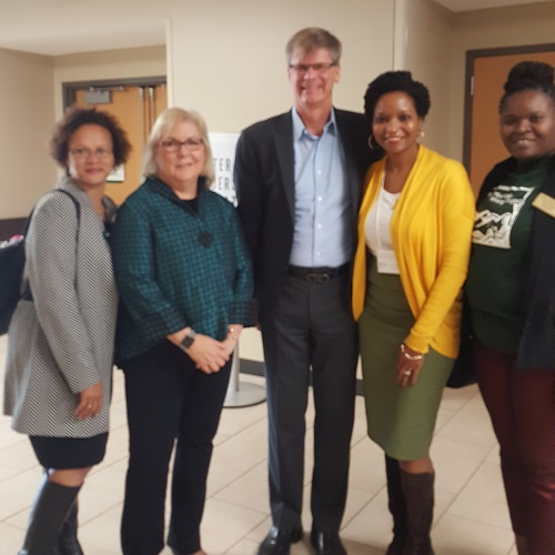 Dr. Tonya Perry, Dr. Nancy Frey, Dr. Douglas Fisher, Dr. Sharonica Nelson, and Jameka Thomas.