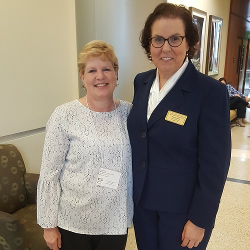 Mary James and Dana Jacobson.
