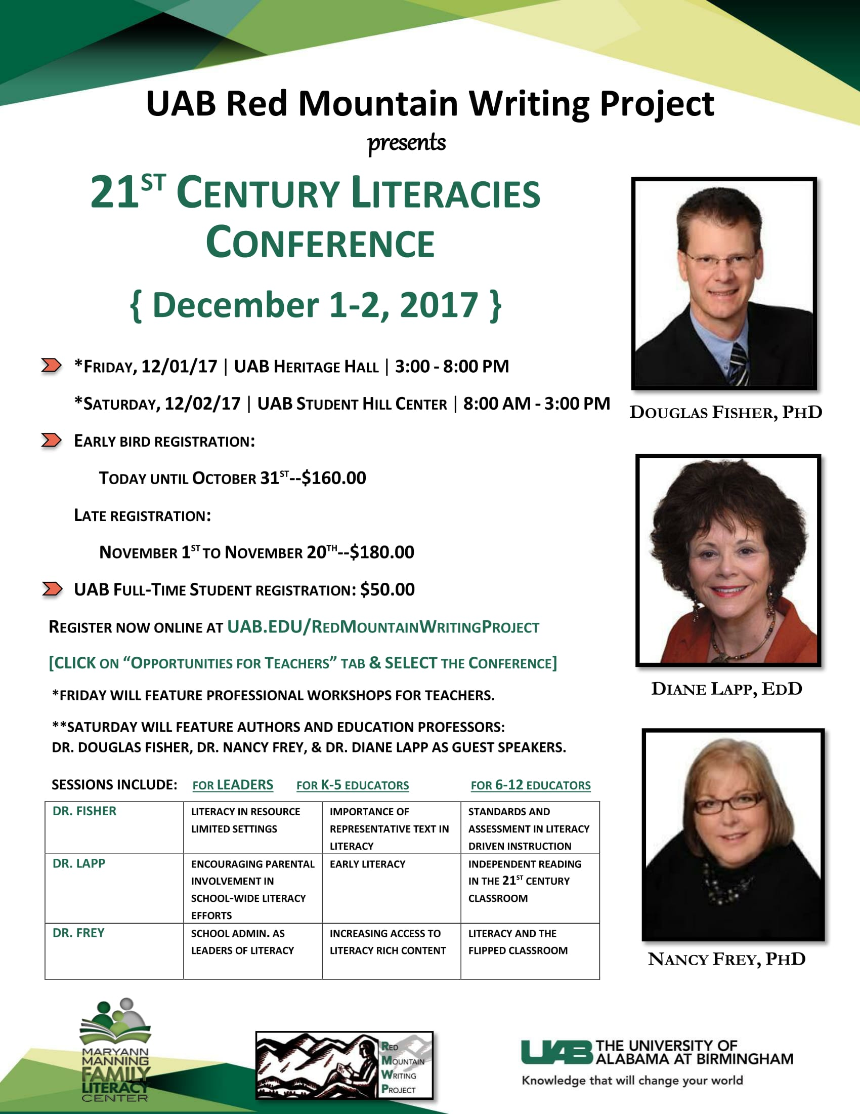literacies conference flyer 9.28.17 1 1