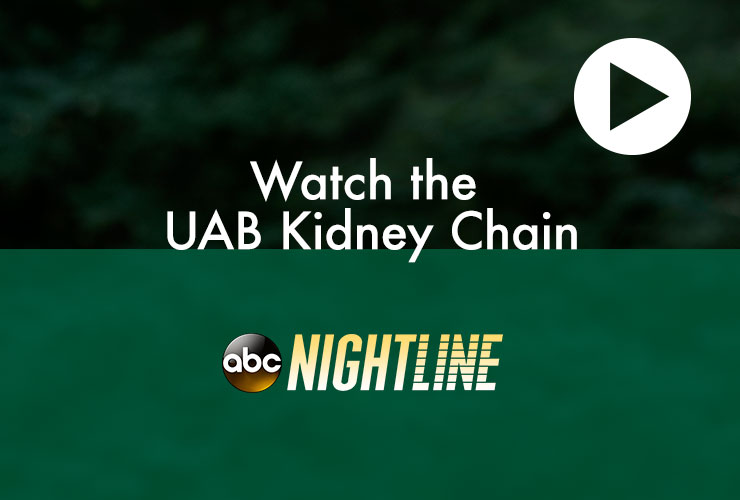 Watch the UAB Kidney Chain on Nighline