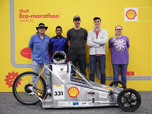 shell eco marathon team stream