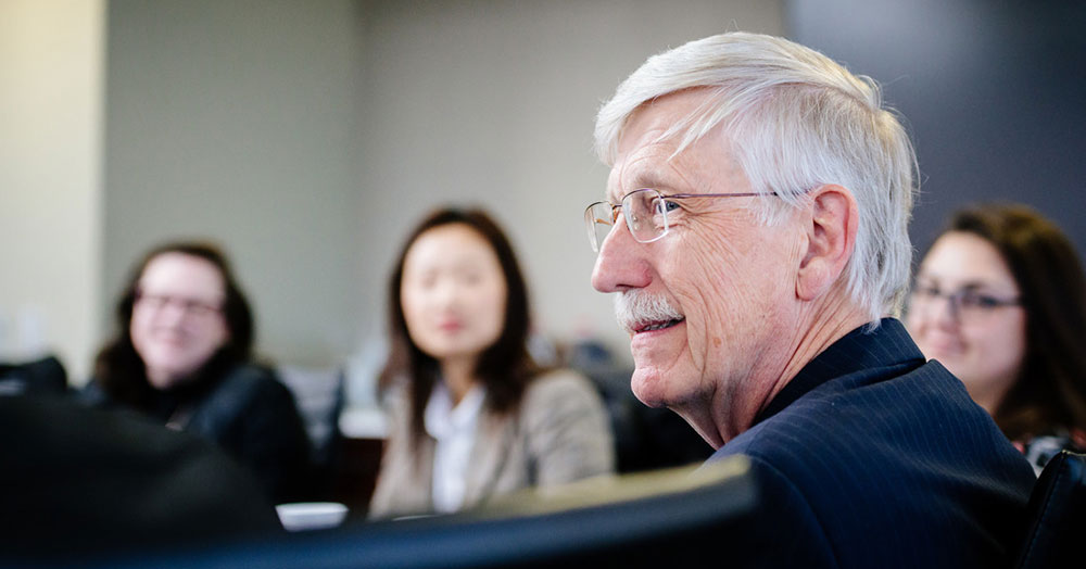 Newswise: Looking to the future with Dr. Francis Collins