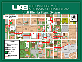 UAB - The Reporter - UAB District Steam System construction project ...