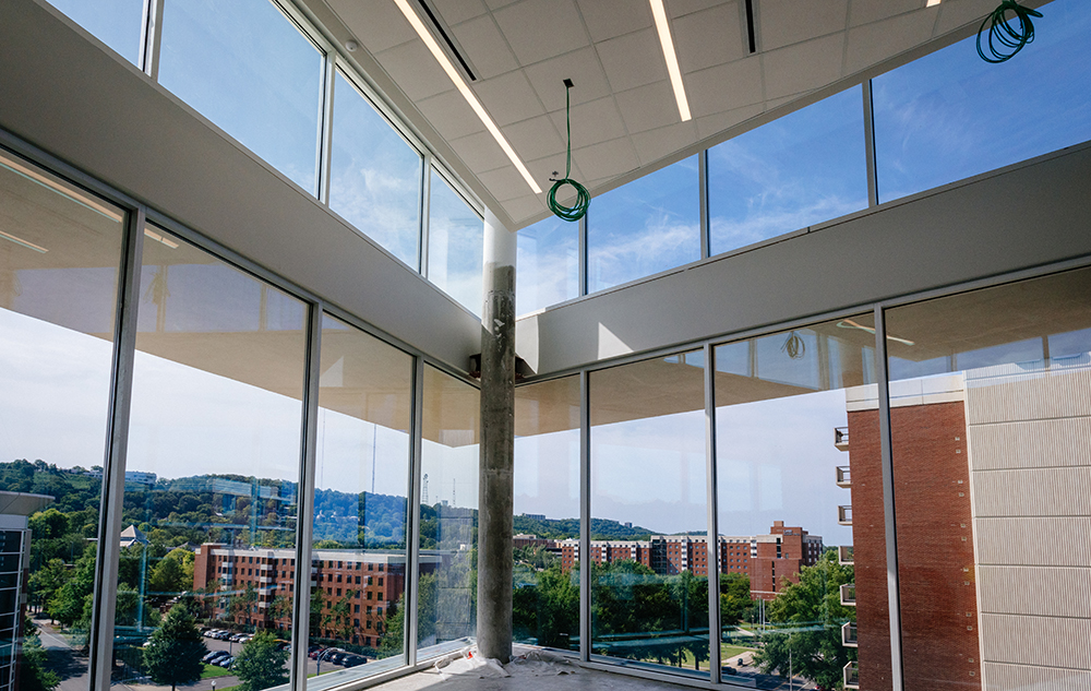 Green Hall Common Space Windows   Widget