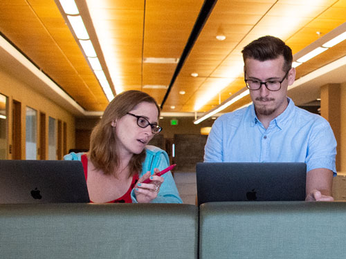 Research Computing interns are hands-on in a world that is 'never comfortable'