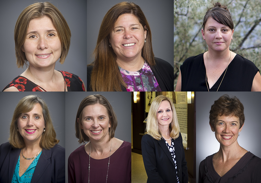7 women honored for excellence in teaching