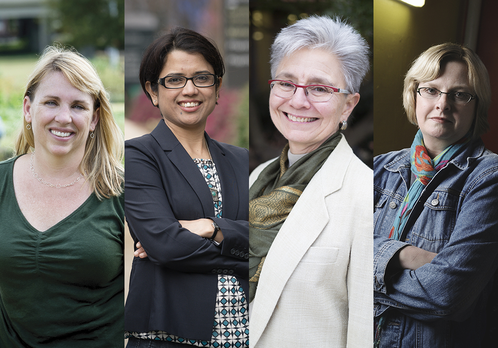 Meet 4 women faculty making the campus and world more sustainable