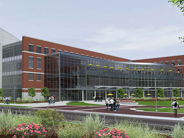 student center render web