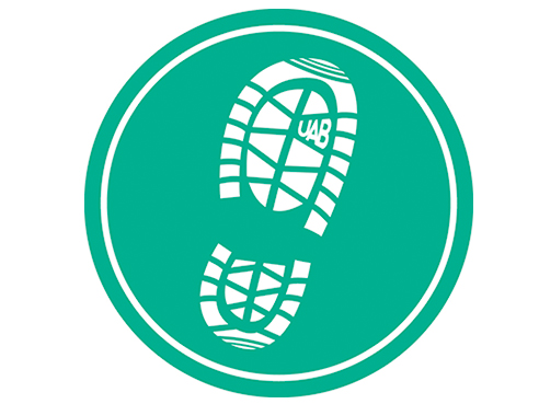 walking trail logo