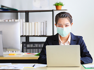 Employees and students must comply with COVID-19 precautions, can report non-compliance